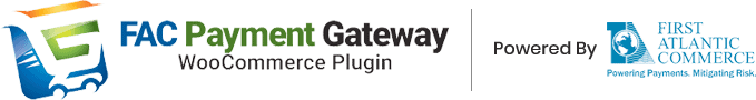 First Atlantic Commerce WooCommerce plugin