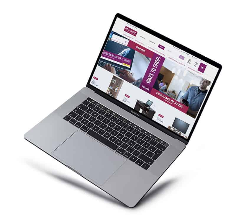 Amaranth BSL Website Mockup