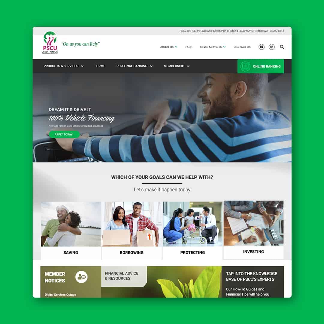 PSCU Website Design Project