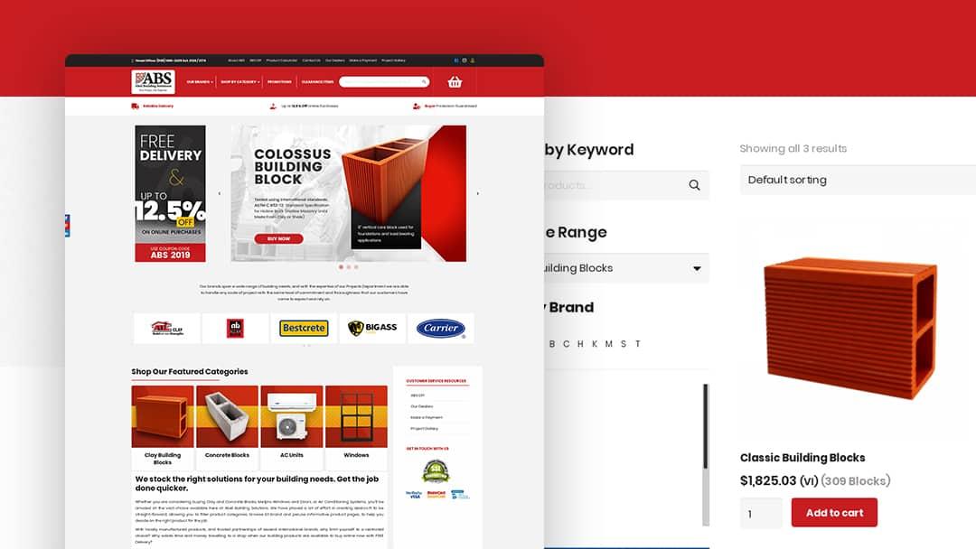 Website Design for ABEL