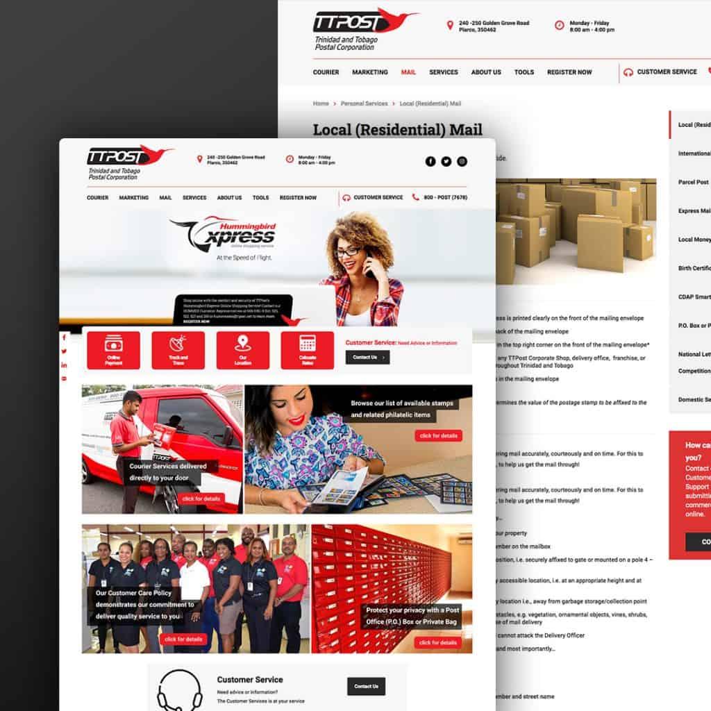 Website Design for TTPOST