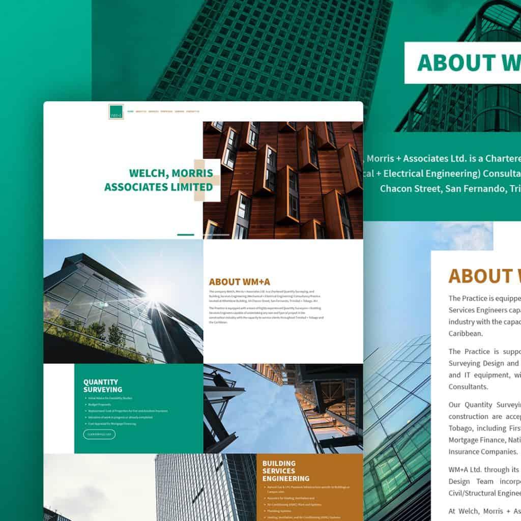 Website Design for Welch Morris