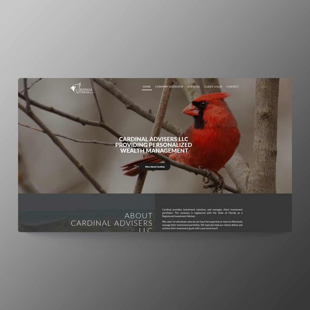 Website Design for Cardinal Advisers LLC